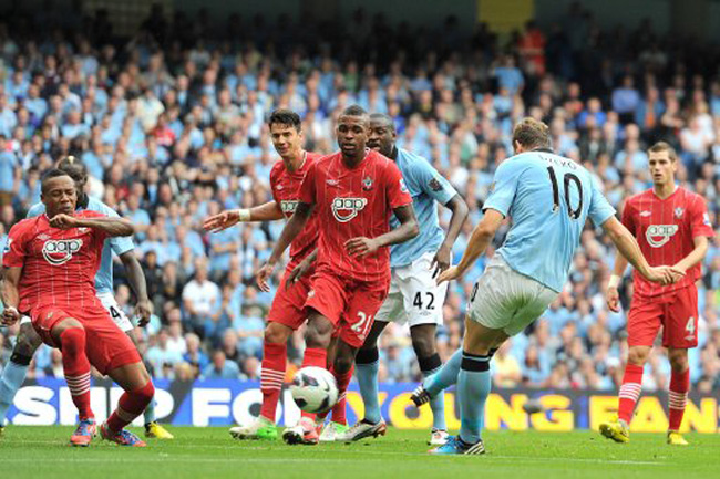 man city v southampton 1