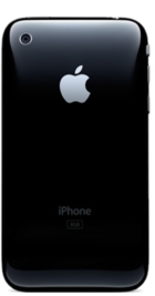 Apple iPhone 3GS 16GB Black back