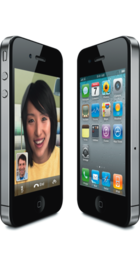 Apple iPhone 4 16GB Black side