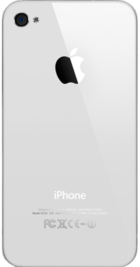 Apple iPhone 4 16GB White back