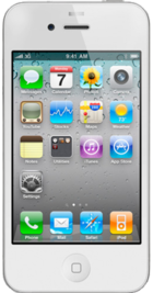Apple iPhone 4 16GB White front
