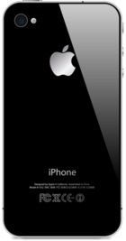 Apple iPhone 4 8GB Black back