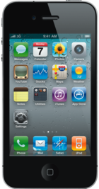 Apple iPhone 4 8GB Black front