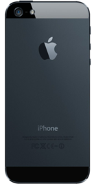 Apple iPhone 5 32GB Black back