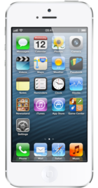 Apple iPhone 5 64GB White front