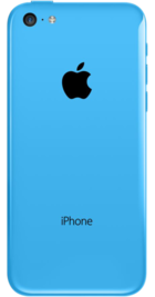 Apple iPhone 5c 8GB Blue back