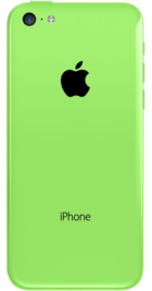 Apple iPhone 5c 32GB Green back