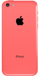 Apple iPhone 5c 16GB Pink back