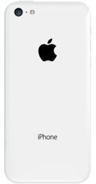 Apple iPhone 5c 16GB White back