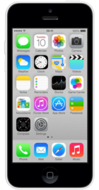 Apple iPhone 5c 16GB White front