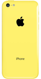 Apple iPhone 5c 16GB Yellow back
