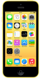 Apple iPhone 5c 16GB Yellow front