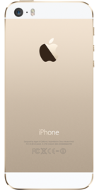 Apple iPhone 5s 16GB Gold back