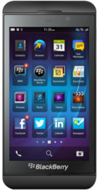 BlackBerry Z10 front