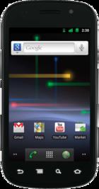 Google Nexus S front