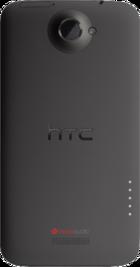 HTC One X back