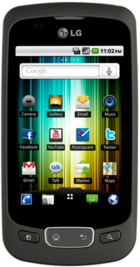 LG Optimus One front