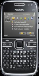 Nokia E72 Black front