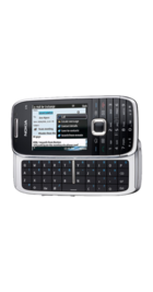 Nokia E75 Black back