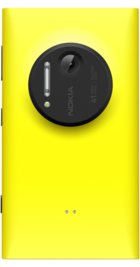 Nokia Lumia 1020 Yellow back