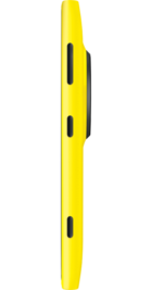 Nokia Lumia 1020 Yellow side