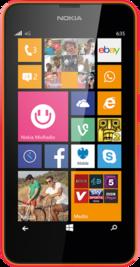 Lumia 635 Orange