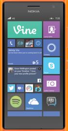 Lumia 735 Orange