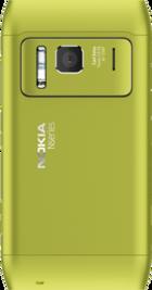 Nokia N8 Green back