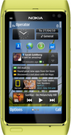Nokia N8 Green front