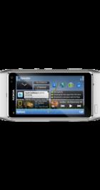Nokia N8 Silver back