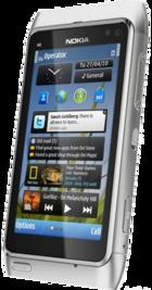 Nokia N8 Silver side