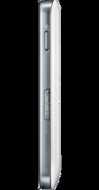 Samsung Galaxy Ace White back
