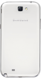 Samsung Galaxy Note 2 White back