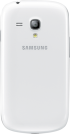 Samsung Galaxy S3 Mini White back
