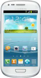 Samsung Galaxy S3 Mini White front