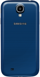 Samsung Galaxy S4 Blue back