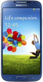 Samsung Galaxy S4 Blue front