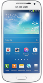 Samsung Galaxy S4 Mini White front