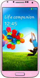 Samsung Galaxy S4 Pink front