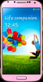Samsung Galaxy S4 Pink front