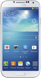 Samsung Galaxy S4 16GB White front