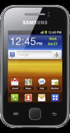 Samsung Galaxy Y front