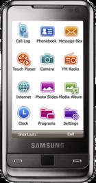 Samsung Omnia i900 16GB front