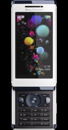 Sony Ericsson Aino back