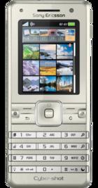 Sony Ericsson K770i Sandy front