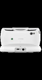 Sony Ericsson Xperia Play White back