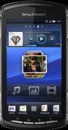 Sony Ericsson Xperia Play White front