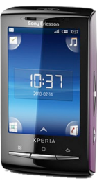 Sony Ericsson Xperia X10 Mini Pink back