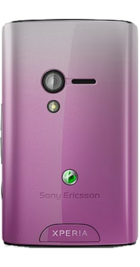 Sony Ericsson Xperia X10 Mini Pink side