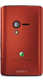 Sony Ericsson Xperia X10 Mini Red side